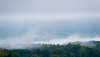 Mist in the hills across the valley by snapify