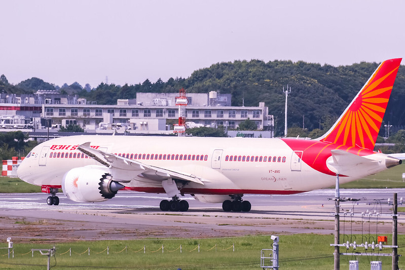 VT-ANS Boeing 787-8 Dreamliner Air India
