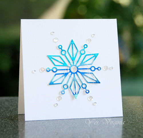 snowflake (square card)