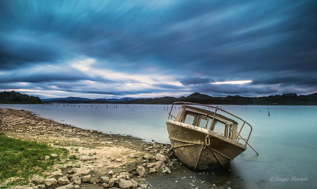 Barca varada (Explorer)