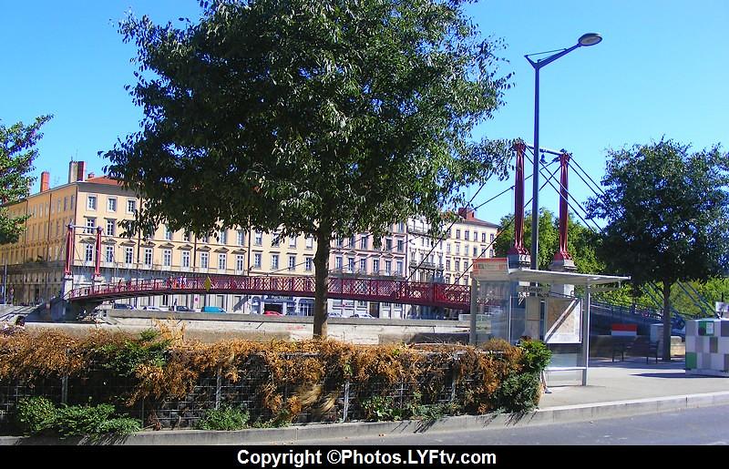 Lyon, passerelle St-Georges