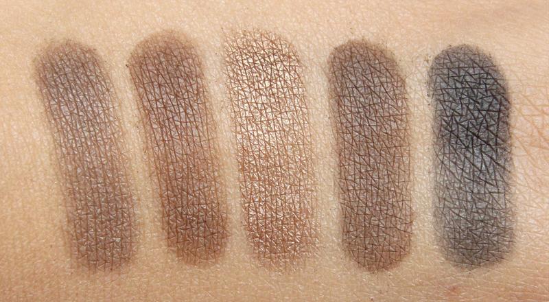 L'oréal beige la palette nude swatch2