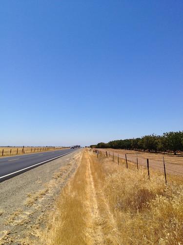 Straße in Kalifornien