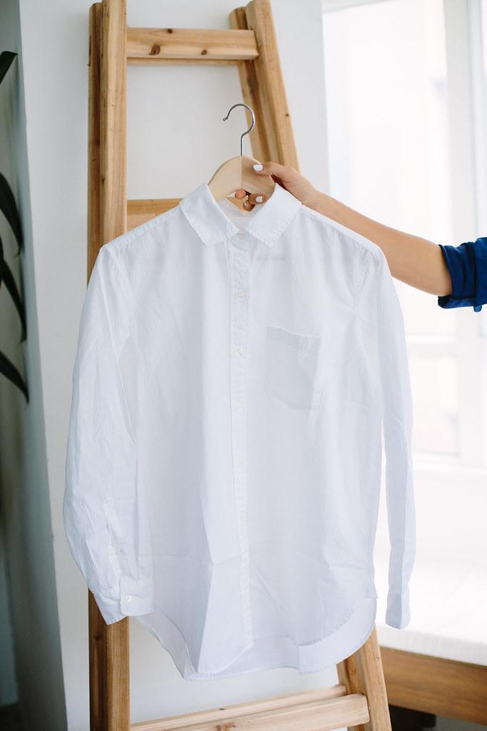 Cut Out Back Shirt