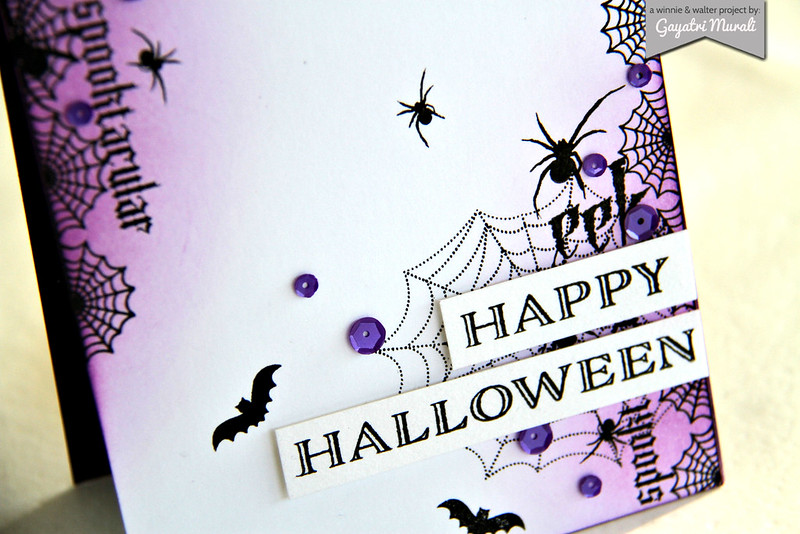 Happy Halloween closeup