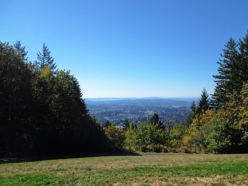 SW view from Council Crest Park