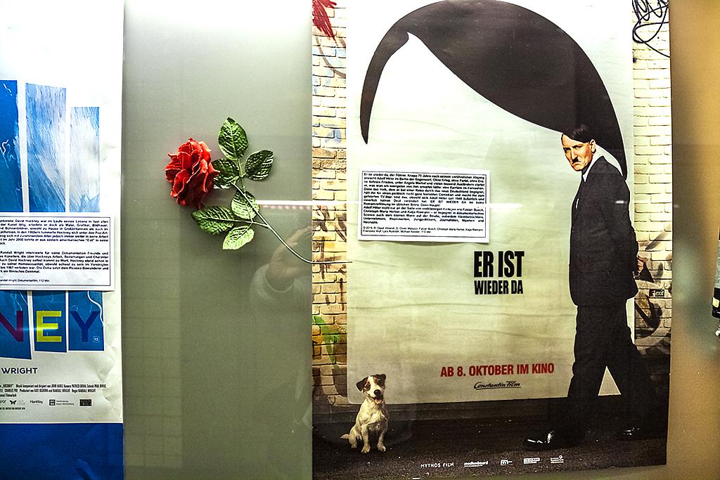 ER IS WIEDER DA poster--Leipzig 2