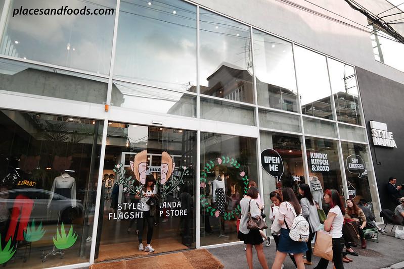 style nanda flagship store hongdae