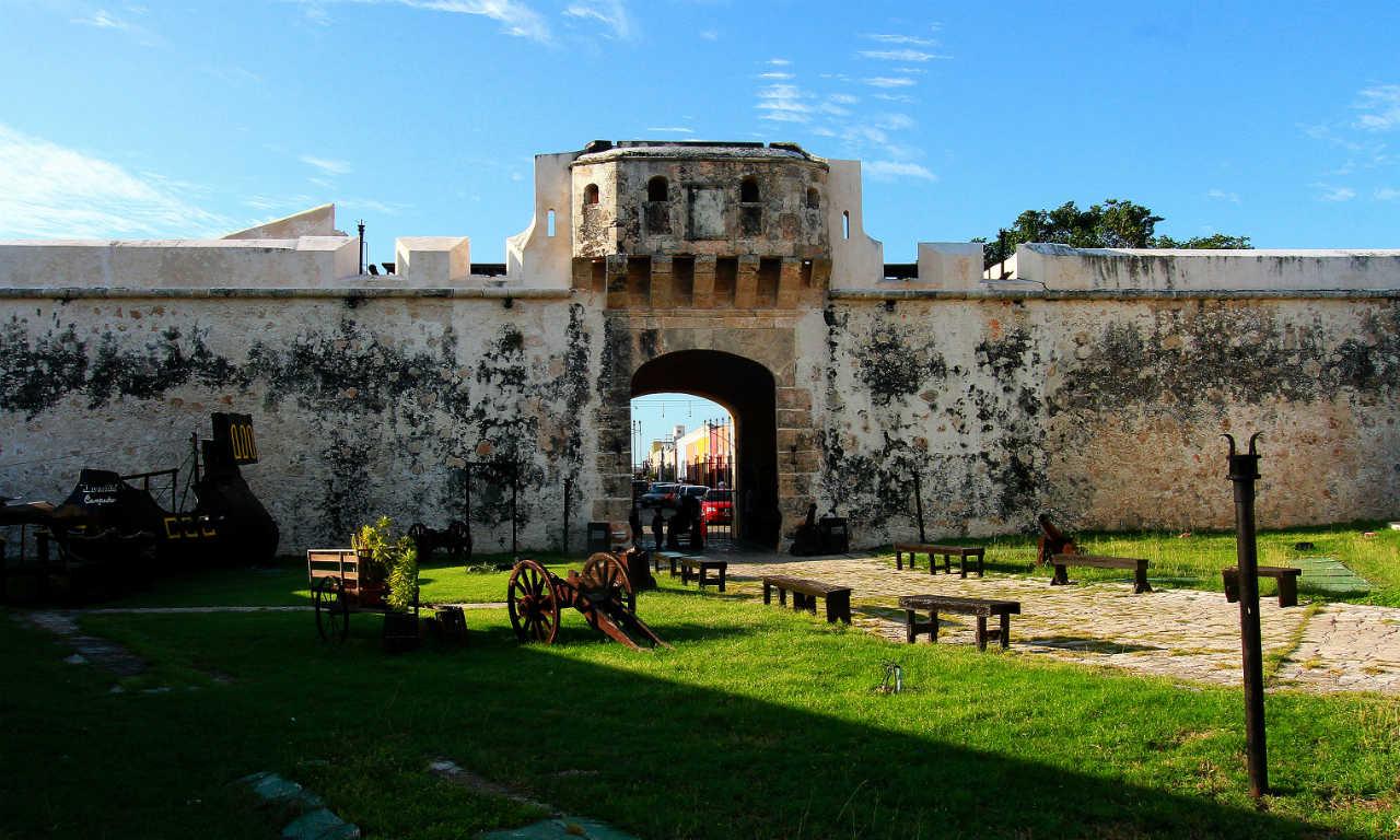 Campeche, la ciudad de las murallas