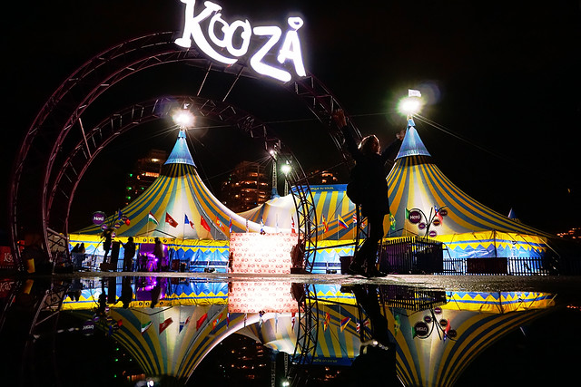 "Cirque Du Soleil ""Kooza"" at Halloween Night in Vancouver"