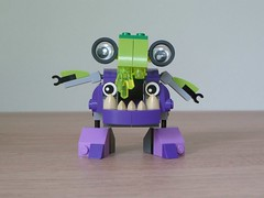 LEGO MIXELS DRIBBAL VAKA-WAKA MIX Instructions Lego 41548 Lego 41553 Mixels Series 6