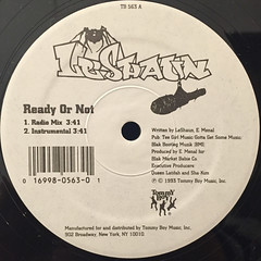 LE SHAUN:READY OR NOT(LABEL SIDE-A)