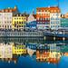 Nyhavn in Copenhagen by Loïc Lagarde