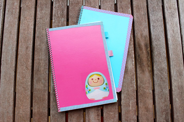 Personalized notebooks by MILK