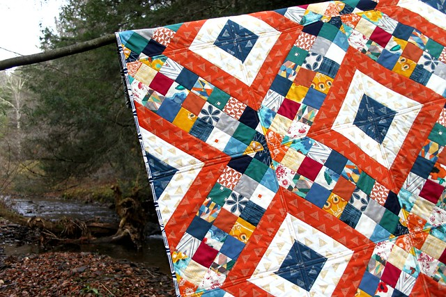 Criss Cross Diamond Quilt in Artisan