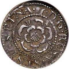 James I silver Thistle Penny