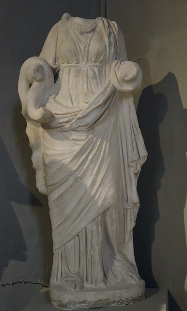 Statue of Hygeia, from the Gymnasium of Salamis, 2nd century AD, Cyprus Museum, Nicosia, Cyprus