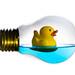 Duck bulb by isabelle.puaut