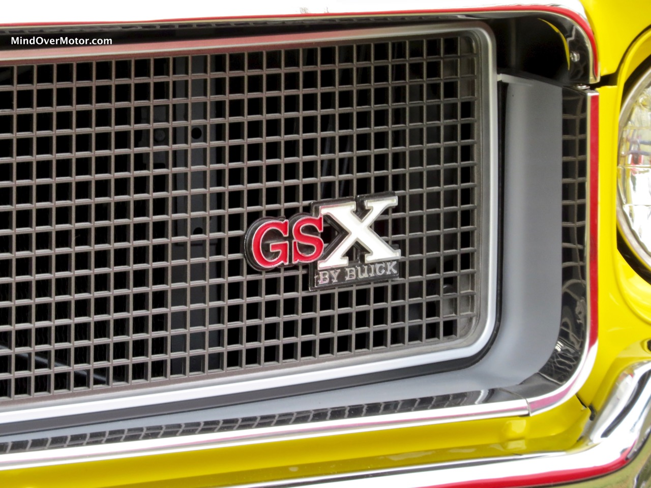 1970 Buick GSX Badge