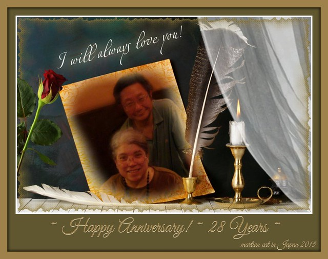 Happy Anniversary ~ 28 years ~ November 8, 1987