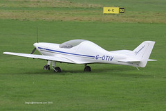 G-OTIV - 2007 build Aerospool WT9 Dynamic, visiting Barton