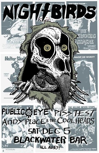 12/5/15 NightBirds/PublicEye/PissTest/AndyPlaceAndTheCoolheads