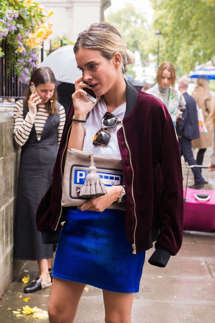 how to wear velvet streetstyle inspiration outfits7
