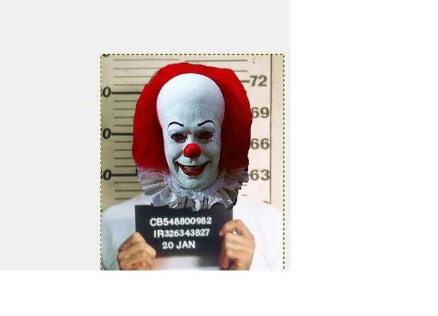 fugitive the clown