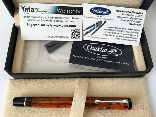 Review Conklin Duragraph Fountain Pen - 1.1 mm Stub @GouletPens (4)