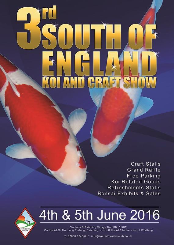 South downs koi club show 2016 clubs events forum for Koi farm near me