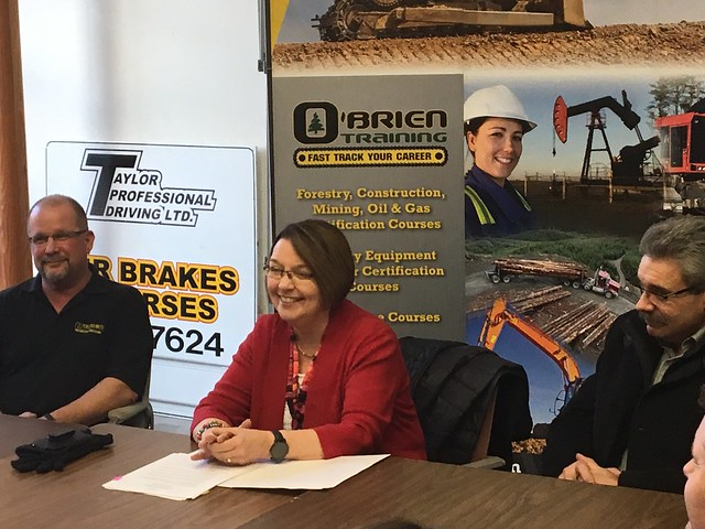 Canada-BC partnership to train British Columbians for cooking and forestry careers