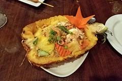 pineapple fried rice at Royal Thai restaurant