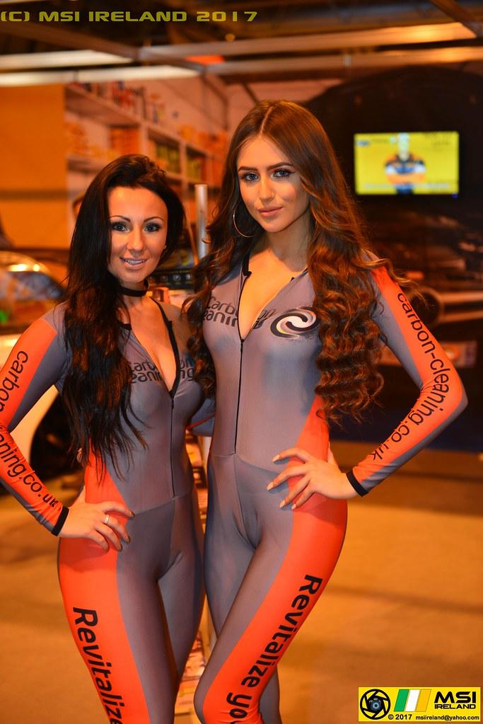 Super Sexy Carbon Cleaning Girls Autosport International -2321