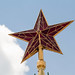 Red star on top of the Spasskaya Tower