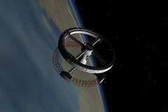 Space station V morning.