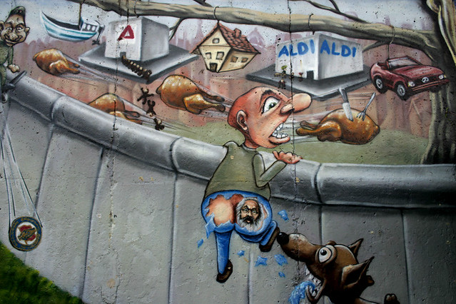 Berlin wall mural flickr photo sharing for Berlin wall mural