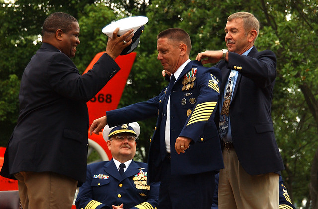 THREE MASTER CHIEF PETTY OFFICERS OF THE COAST GUARD | Flickr - Photo ...