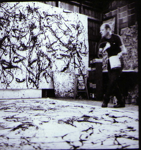 Pollock painting I by cacahuete & ananas