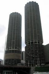 Chicago - Near North Side: Marina City