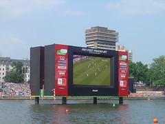 sport venue, display device, flat panel display, billboard, stadium, advertising,