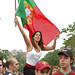 Portugese Female Fan On Top