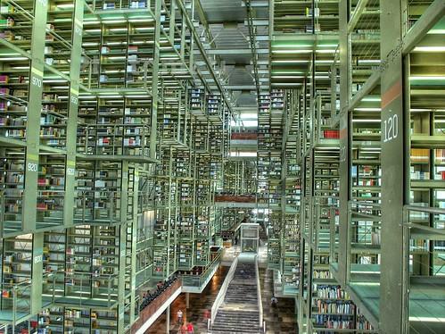 Vista de la Biblioteca Vasconcelos