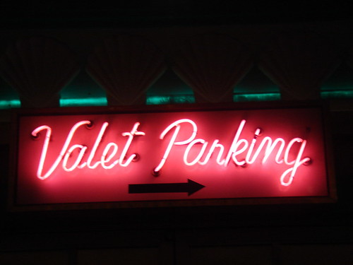Valet Parking, Las Vegas, NV