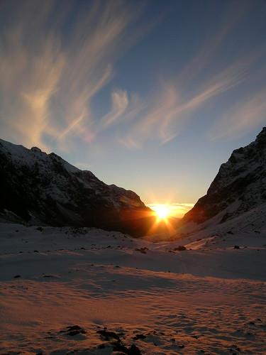 chile winter sunset mountain clouds sunrise landscape atardecer 2006 andes invierno cordillera montañas esquí chilecentral regióndeo´higgins