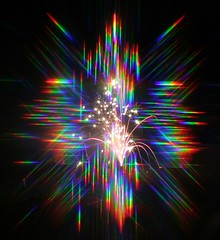 1344 Fireworks with prisms