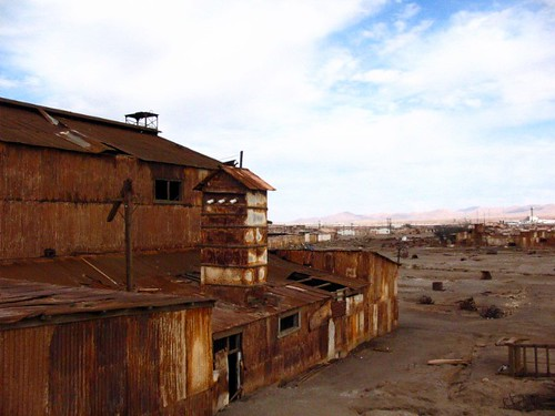 Humberstone and Santa Laura Saltpeter Works - Iquique - Chile
