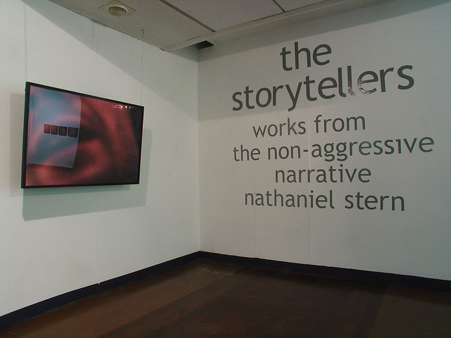 front view of The Storytellers