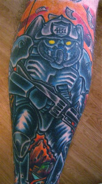 Fahrenheit 451 flickr photo sharing for Fahrenheit 451 tattoo