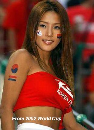 World Cup Korea Babe 1 Asian babes are hot too wwweastbocanet