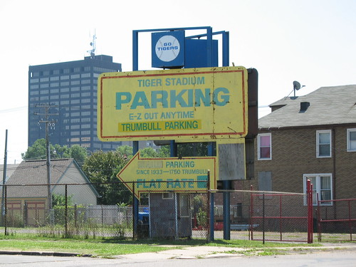 Tiger Stadium Parking